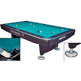 Фото 1 к товару Стол бильярдный Dynamic II 9 футов черный + комплект для игры