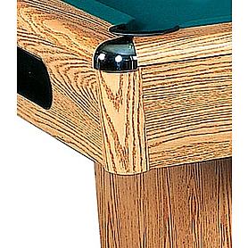 Фото 2 к товару Стол бильярдный Eliminator (дуб) 8 футов + комплект для игры