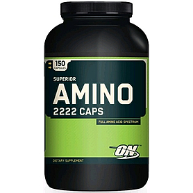 Фото 1 к товару Аминокомплекс Optimum Nutrition Amino 2222 (150 капсул)
