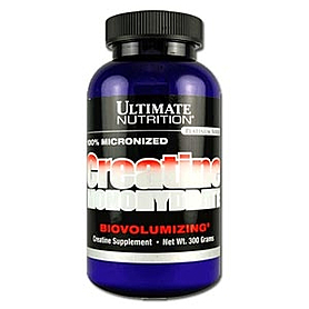 Фото 1 к товару Креатин Ultimate Nutrition Creatine Monohydrate (300 или 1000 г)