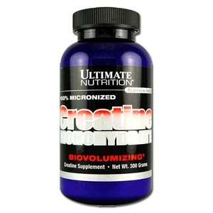 Креатин Ultimate Nutrition Creatine Monohydrate (300 или 1000 г)