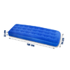 Матраc надувной односпальный Bestway 67000 (185х76х22 см) - фото 3