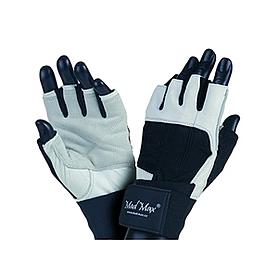 Перчатки спортивные Mad Max Professional белые - S