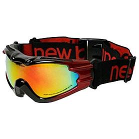 Фото 2 к товару Маска лыжная New Balance Pilot Red