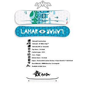 Сноуборд мужской Lamar What?