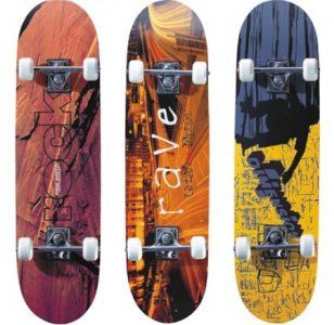 Скейтборд дерево Joerex 5174