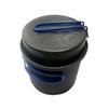 Кастрюля-кружка анодированная с крышкой-сковородкой Tramp 1 л - фото 1