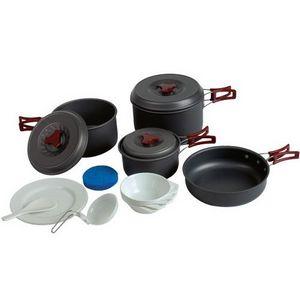 Набор посуды из анодированного алюминия на 4-5 персон Tramp