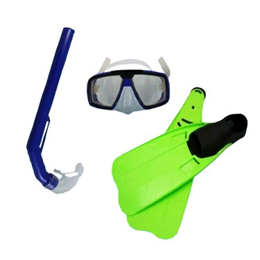 Набор для плавания USA Style (ласты+маска+трубка) 126S+804