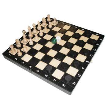 Набор игр 3 в 1 - шашки, шахматы, нарды