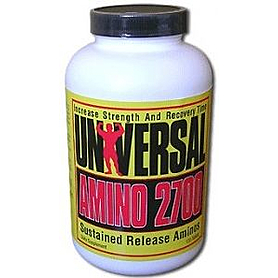 Аминокомплекс Universal Nutrition Amino 2700 (120 таблеток)