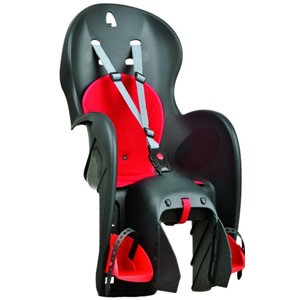 Кресло велосипедное детское Polisport Wallaroo CFS черное