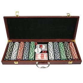 Фото 2 к товару Набор для игры в покер, 500 фишек
