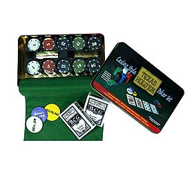 Набор для игры в покер Texas Hold'em, 200 фишек