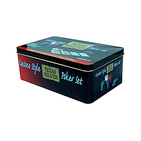 Фото 2 к товару Набор для игры в покер Texas Hold'em, 200 фишек