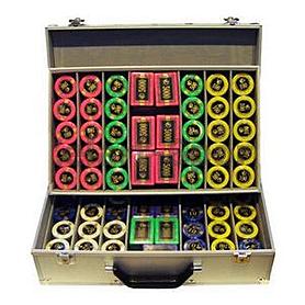 Фото 1 к товару Фишки для покера, 730 шт.