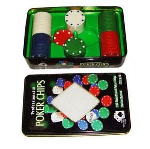 Фишки для покера, 100 шт. G-1102110