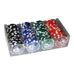 Фишки для покера, 100 шт. G-2230