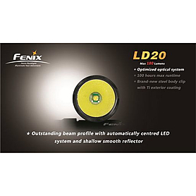 Фото 3 к товару Фонарь ручной Fenix LD20 Cree XP-G LED R5