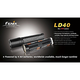 Фото 3 к товару Фонарь ручной Fenix LD40 Cree XP-G LED R4