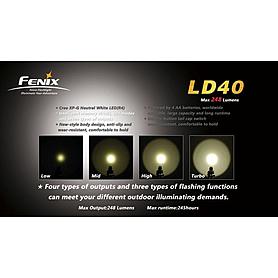 Фото 4 к товару Фонарь ручной Fenix LD40 Cree XP-G LED R4