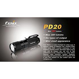 Фото 4 к товару Фонарь ручной Fenix PD20 Cree XP-G LED R5