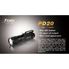Фонарь ручной Fenix PD20 Cree XP-G LED R5 - фото 4