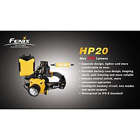 Фото 2 к товару Фонарь налобный Fenix HP20 Cree XP-G LED R5