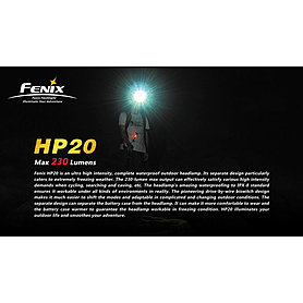 Фото 3 к товару Фонарь налобный Fenix HP20 Cree XP-G LED R5