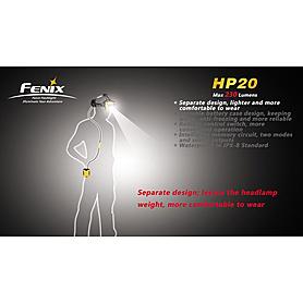Фото 5 к товару Фонарь налобный Fenix HP20 Cree XP-G LED R5