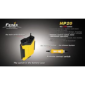 Фото 7 к товару Фонарь налобный Fenix HP20 Cree XP-G LED R5