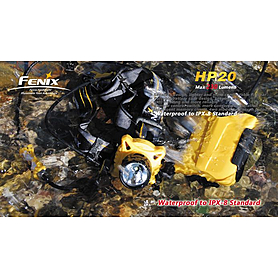 Фото 9 к товару Фонарь налобный Fenix HP20 Cree XP-G LED R5