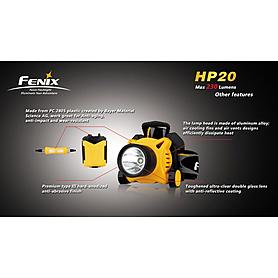 Фото 10 к товару Фонарь налобный Fenix HP20 Cree XP-G LED R5
