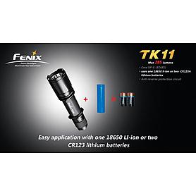 Фото 6 к товару Фонарь тактический Fenix ТК11 Cree XP-G LED Premium R5