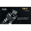 Фонарь тактический Fenix ТК11 Cree XP-G LED Premium R5 - фото 7