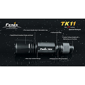 Фото 8 к товару Фонарь тактический Fenix ТК11 Cree XP-G LED Premium R5