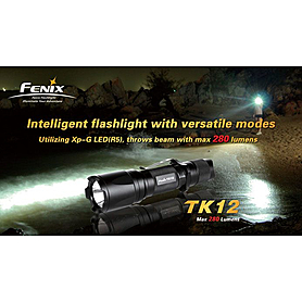 Фото 2 к товару Фонарь тактический Fenix ТК12 Cree XP-G LED R5