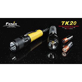 Фото 2 к товару Фонарь тактический Fenix ТК20 Cree XR-E LED Q3