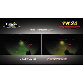 Фото 7 к товару Фонарь тактический Fenix ТК20 Cree XR-E LED Q3