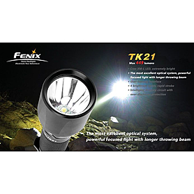 Фото 4 к товару Фонарь тактический Fenix ТК21 Cree XM-L LED T6
