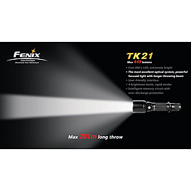 Фото 5 к товару Фонарь тактический Fenix ТК21 Cree XM-L LED T6