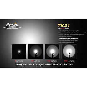 Фото 7 к товару Фонарь тактический Fenix ТК21 Cree XM-L LED T6
