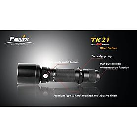 Фото 4 к товару Фонарь тактический Fenix ТК21 Cree XM-L LED U2