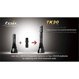 Фото 4 к товару Фонарь тактический Fenix TK30 Cree MC-E LED