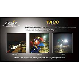 Фото 6 к товару Фонарь тактический Fenix TK30 Cree MC-E LED