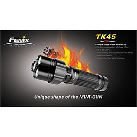 Фото 2 к товару Фонарь тактический Fenix TK45 Cree 3 x XP-G R5 LED