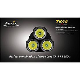Фото 3 к товару Фонарь тактический Fenix TK45 Cree 3 x XP-G R5 LED