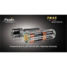 Фото 5 к товару Фонарь тактический Fenix TK45 Cree 3 x XP-G R5 LED