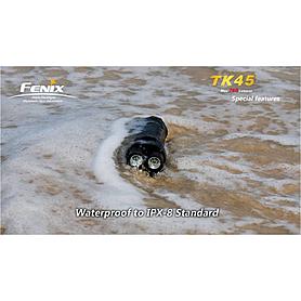 Фото 6 к товару Фонарь тактический Fenix TK45 Cree 3 x XP-G R5 LED