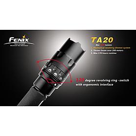 Фото 2 к товару Фонарь тактический Fenix TA20 Cree XR-E LED Premium Q5